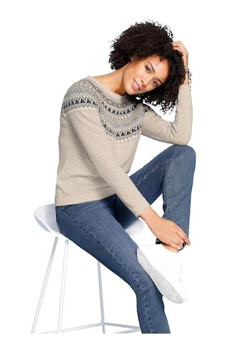 Inspirationen Wollpullover »Woll-Pullover« kaufen