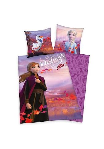 Walt Disney Bettwäsche »Disney Frozen, die Eiskönigin II« kaufen