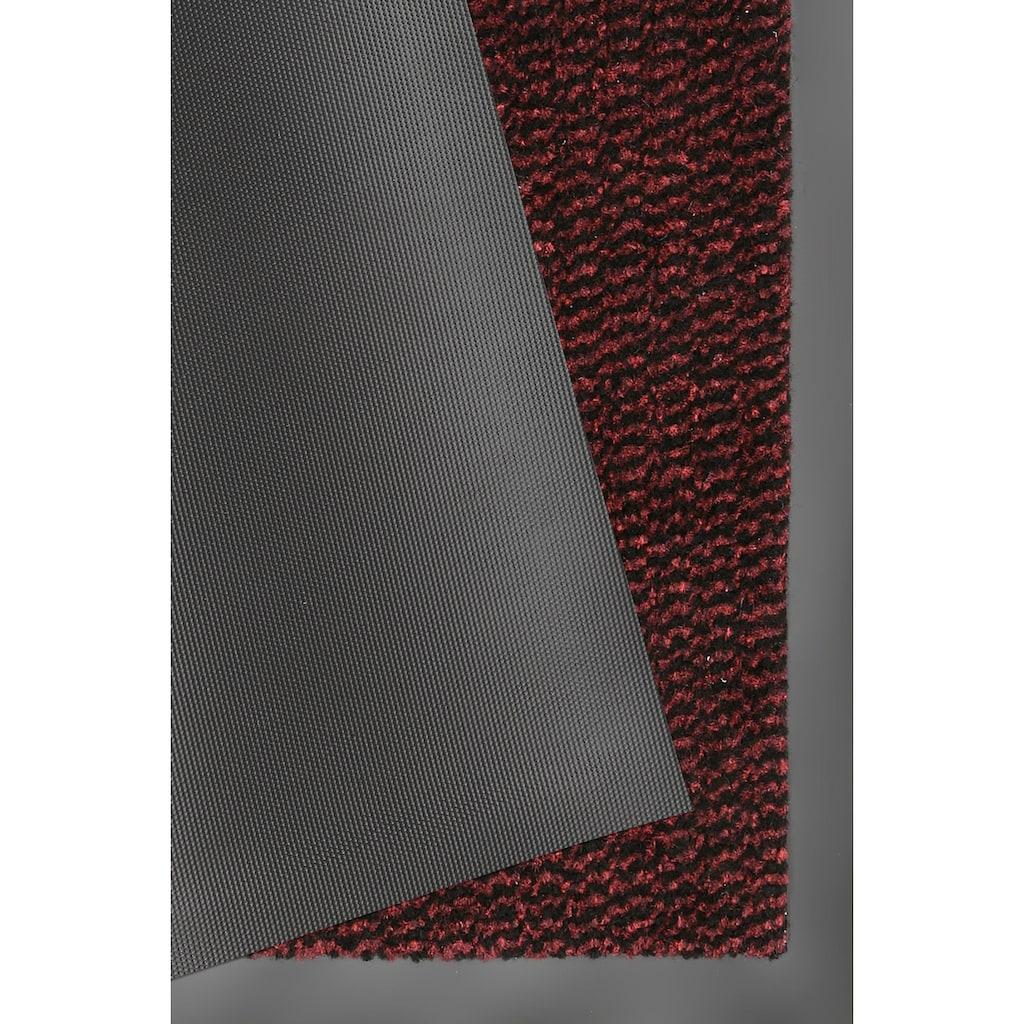 HANSE Home Fußmatte »Faro Line«, rechteckig, 10 mm Höhe, Fussabstreifer, Fussabtreter, Schmutzfangläufer, Schmutzfangmatte, Schmutzfangteppich, Schmutzmatte, Türmatte, Türvorleger