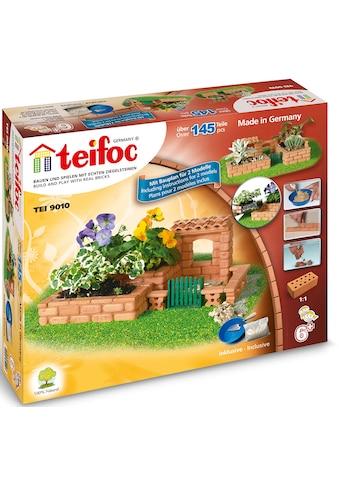 teifoc Steinbaukasten »Garten«, (145 St.), Made in Germany kaufen