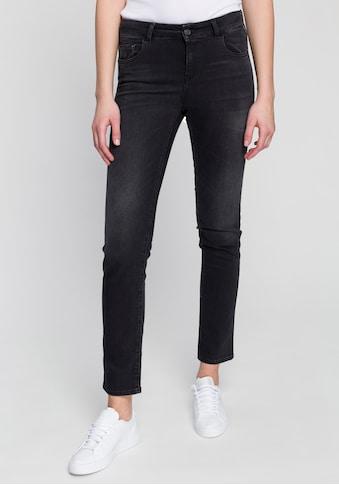 Replay Straight-Jeans »Faaby«, hochwertiger Powerstretch im 5-Pocket-Style kaufen