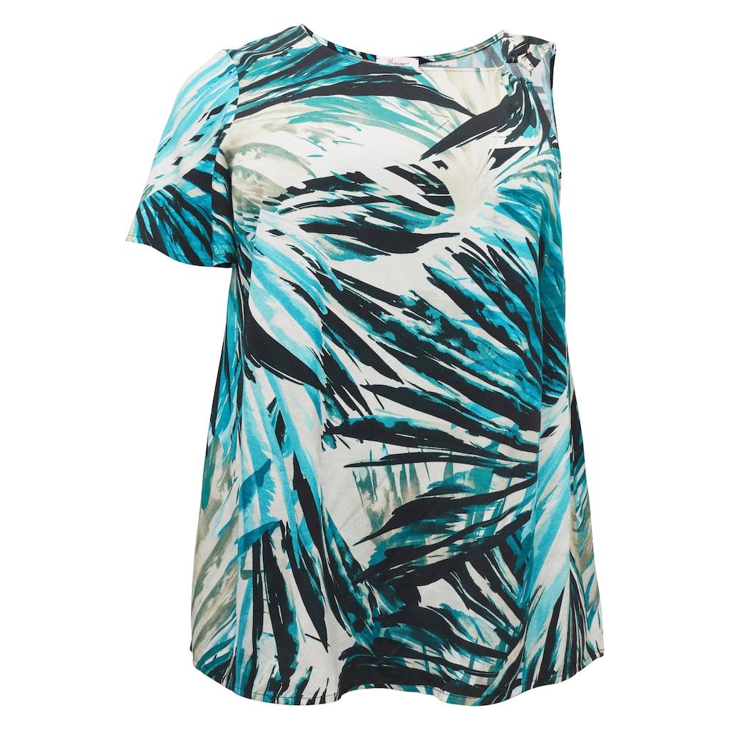 Sheego Tunika, im One-Shoulder-Look
