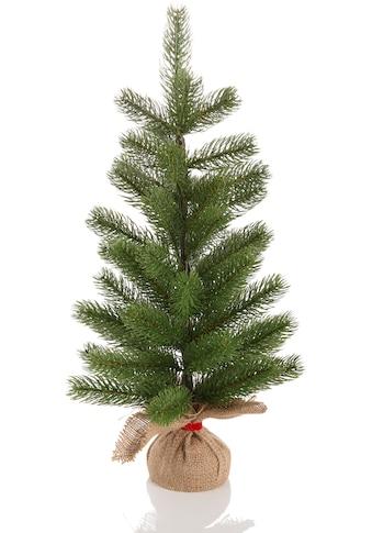 Home affaire Künstlicher Weihnachtsbaum, mit Jutesack kaufen