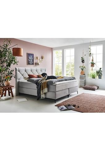 Premium collection by Home affaire Boxspringbett »Aiko«, 100% vegan, mit... kaufen