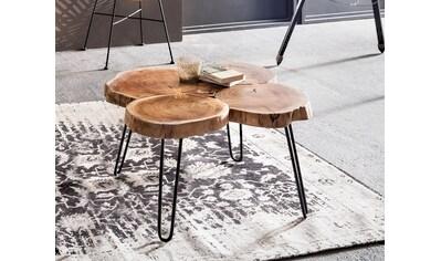 SIT Couchtisch »This&That«, recyceltes Akazienholz kaufen