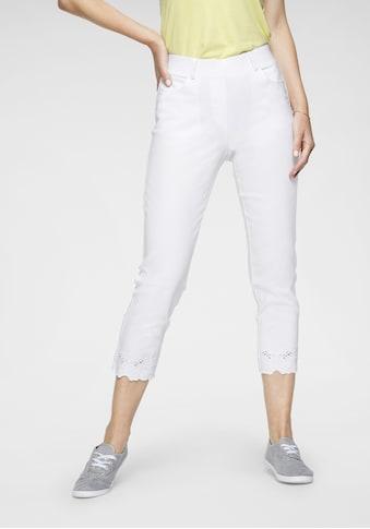 NAVIGAZIONE Stretch-Hose, mit Stickerei kaufen