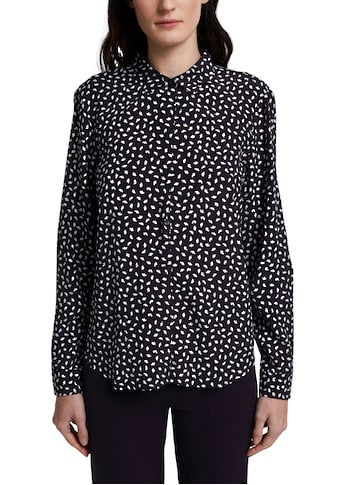 Esprit Collection Hemdbluse, mit Allover Print und Hemdkragen kaufen