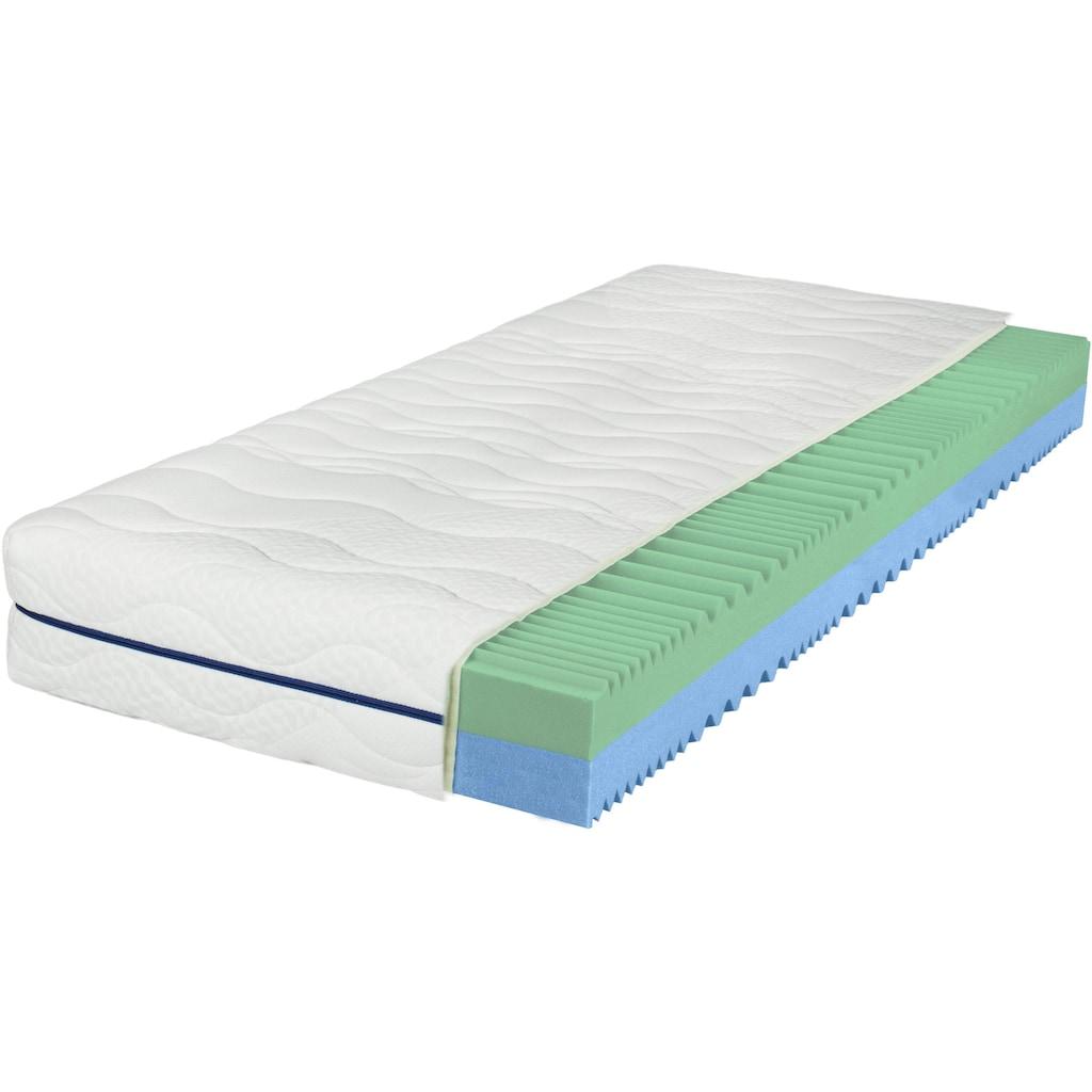 Breckle Komfortschaummatratze »EvoX Duo«, (1 St.), 2 Härten in 1 Matratze - die Matratze für Kunden mit Wunsch nach Flexibilität