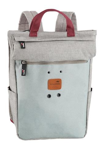 KangaROOS Cityrucksack »Wodz«, mit praktischem Reißverschluss-Rückfach kaufen