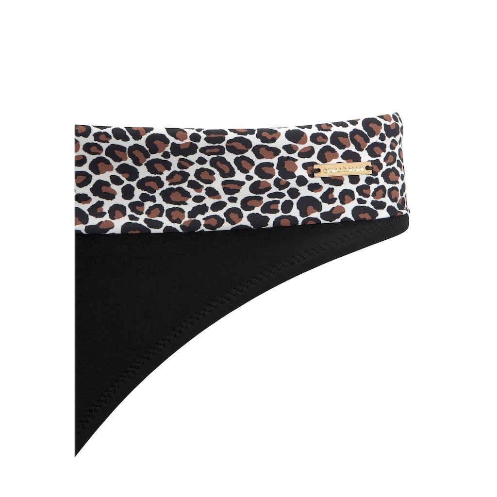 Bruno Banani Bügel-Bikini, im Animaldesign