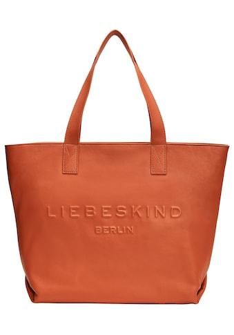 Liebeskind Berlin Shopper »Hannah Shopper M«, mit schöner Logo Prägung kaufen
