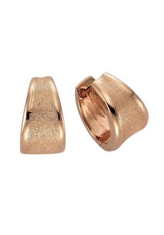 Zeeme Creolen »925/ -  Sterling Silber rotvergoldet« kaufen