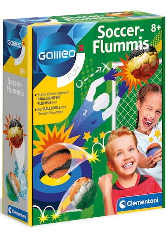Clementoni® Kreativset »Galileo Soccer-Flummis«, Made in Europe kaufen