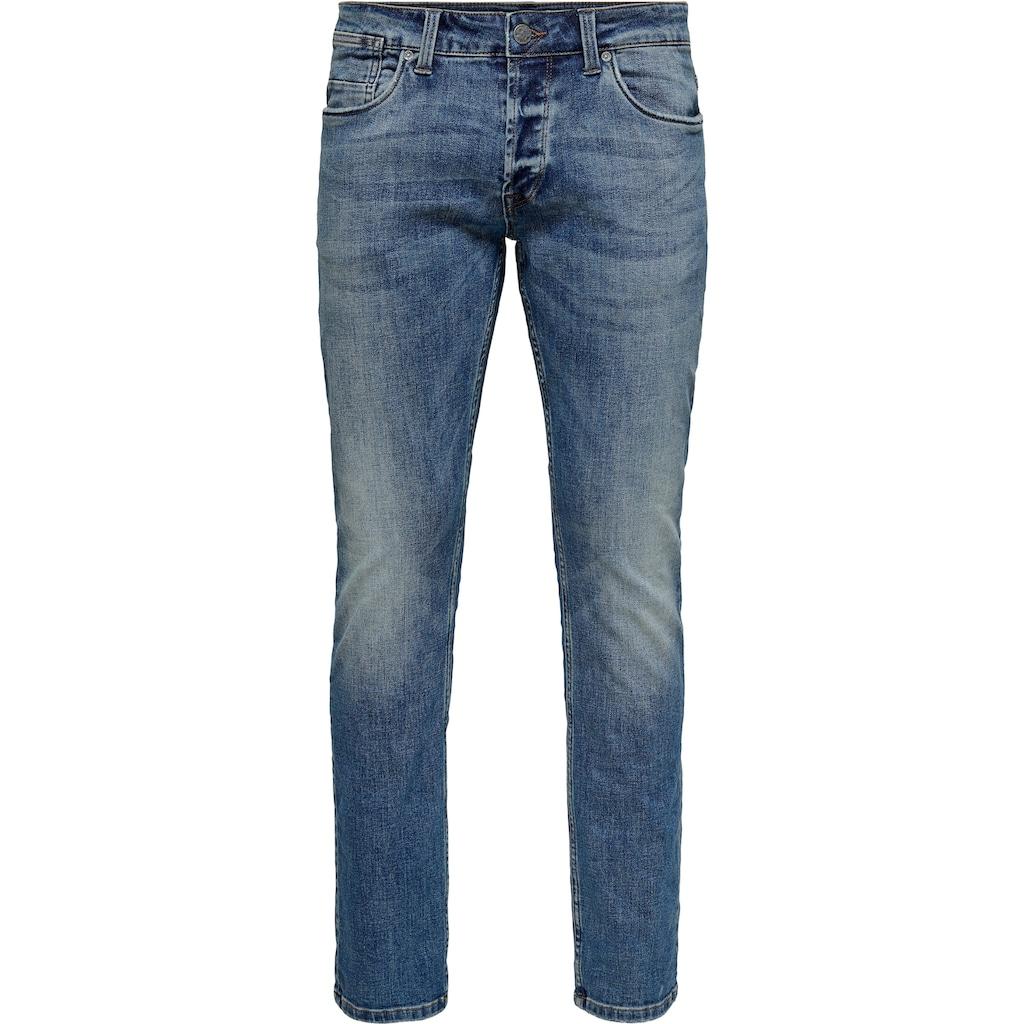 ONLY & SONS Regular-fit-Jeans »WEFT REG«