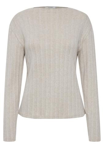 b.young Langarmshirt »Byralaya«, Pullover in Feinstrick-Optik kaufen