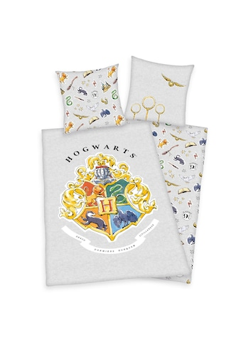 Harry Potter Wendebettwäsche »Harry Potter, Baumwoll-Renforcé« kaufen