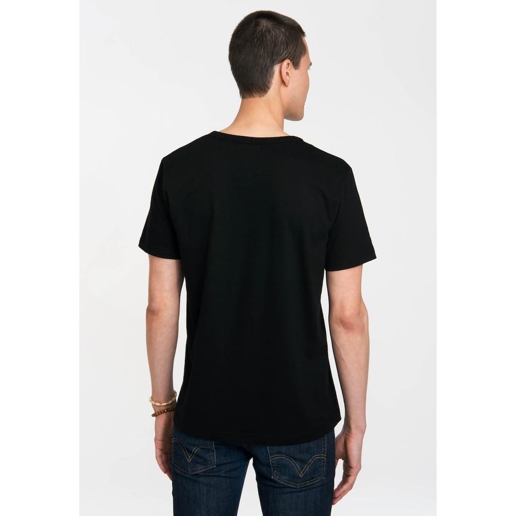 LOGOSHIRT T-Shirt mit knalligem Frontprint