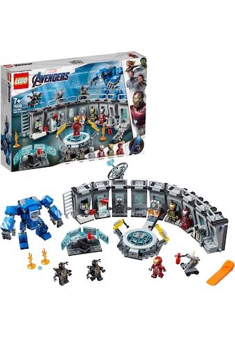 LEGO® Konstruktionsspielsteine »Iron Mans Werkstatt (76125), LEGO® Marvel Super... kaufen