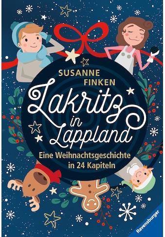 Buch »Lakritz in Lappland - Eine Weihnachtsgeschichte in 24 Kapiteln / Susanne Finken,... kaufen