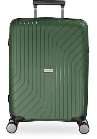 Hauptstadtkoffer Hartschalen-Trolley »TXL, 55 cm, dunkelgrün«, 4 Rollen kaufen