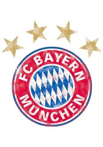 Wall-Art Wandtattoo »FC Bayern München Logo Vintage« kaufen