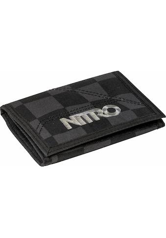 NITRO Geldbörse »Walled, Black Checker« kaufen
