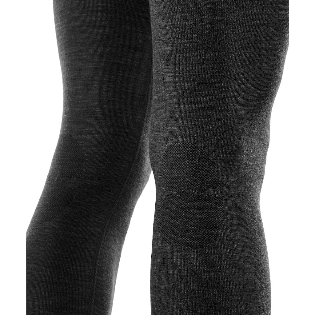 FALKE Lauftights »Wool-Tech«, (1 tlg.), mit feinster Merinowolle