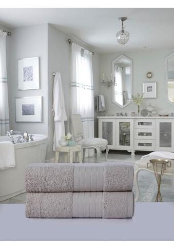 Emotion Badetücher »Uni«, (2 St.), mit großer Farbauswahl kaufen