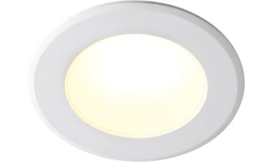 Nordlux LED Einbaustrahler »2er Set Birla«, LED-Board, Warmweiß, IP44, für Badezimmer... kaufen