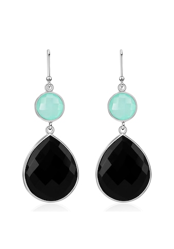 AILORIA Paar Ohrhänger »AZALÉE Ohrringe«, mit Aqua Chalcedon und Onyx kaufen