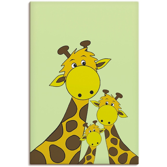 Artland Wandbild »Giraffen«