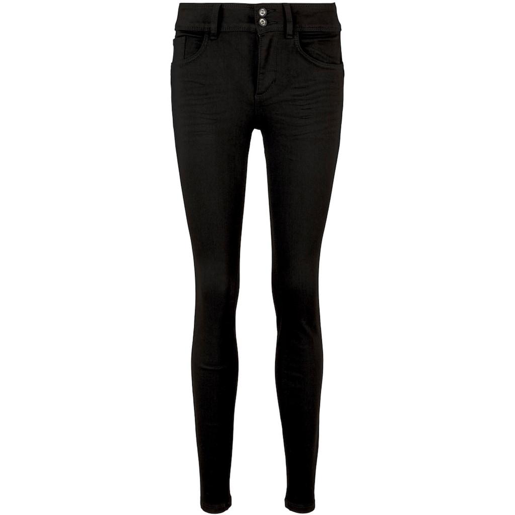 TOM TAILOR Skinny-fit-Jeans, mit modischem Doppelknopf-Verschluss