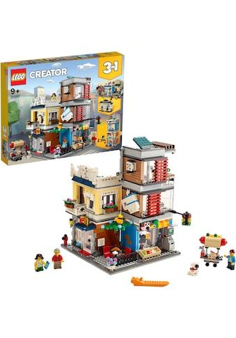 """LEGO® Konstruktionsspielsteine """"Stadthaus mit Zoohandlung & Café (31097), LEGO® Creator"""", (969 - tlg.) kaufen"""