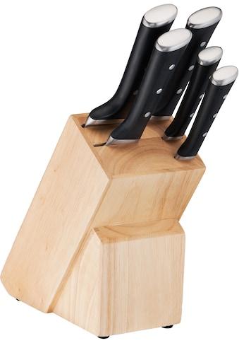 Tefal Messerblock »K232S5 Ice Force 5«, 6 tlg., Ice Force Technologie; dauerhafte Leistungsfähigkeit; formschönes Design kaufen