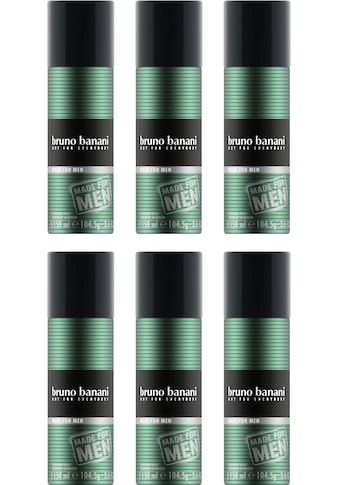 "Bruno Banani Deo - Spray ""Made for Men"", Set 6 - tlg. kaufen"