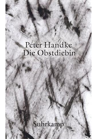 Buch »Die Obstdiebin oder Einfache Fahrt ins Landesinnere / Peter Handke« kaufen