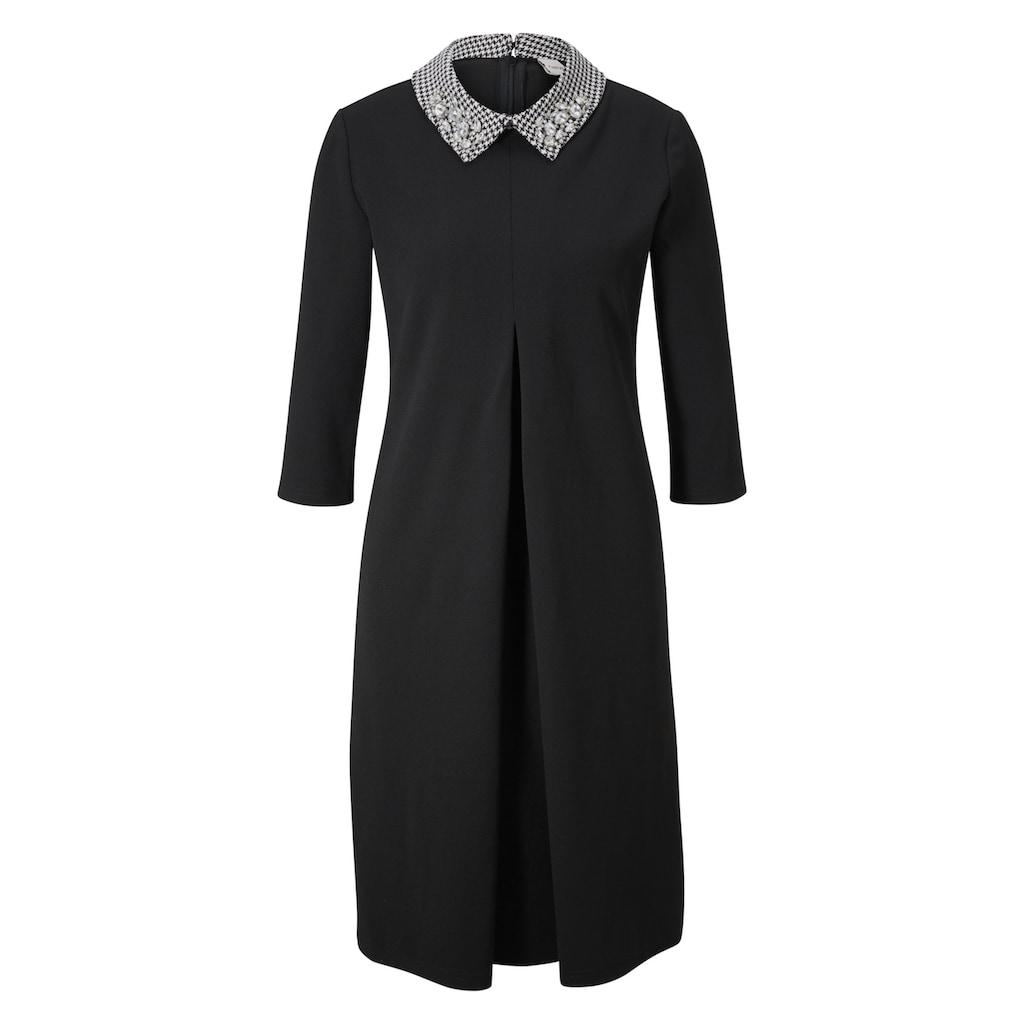 Jerseykleid mit Schmuckelementen