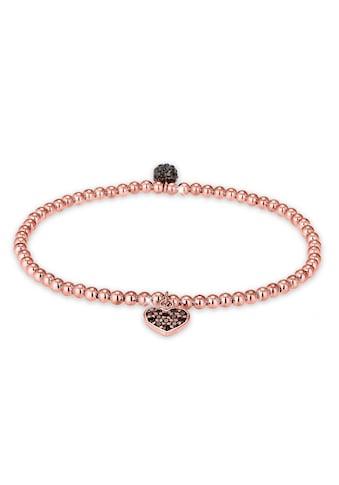 Elli Armband »Herz Symbol Kristalle 925 Silber« kaufen