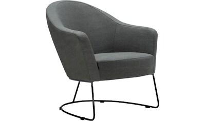 LOVI Loungesessel »Grape«, Metallrahmen grau, Sitzfläche in hochwertigem Formschaum für ein leichtes, luftiges Sitzgefühl kaufen