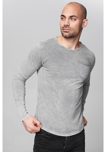 trueprodigy Langarmshirt »Premium Basic Bradley«, Basic Look kaufen