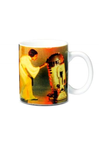 LOGOSHIRT Tasse mit kultigem Print »Star Wars  -  Prinzessin Leia & R2 - D2« kaufen