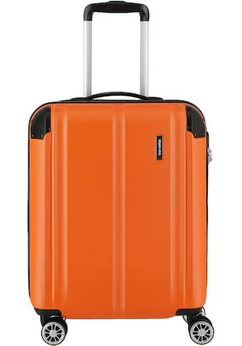travelite Hartschalen-Trolley »City, 55 cm, orange«, 4 Rollen kaufen