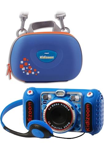 Vtech® Kinderkamera »KidiZoom Duo DX, blau«, inkl. Tragetasche kaufen