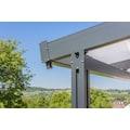 GUTTA Terrassendach »Premium«, BxT: 611x406 cm, Dach Sicherheitsglas klar