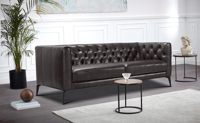 Chesterfield Sofa aus Leder