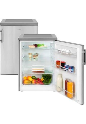 exquisit Table Top Kühlschrank »KS 18-17 RVA++ Inoxlook« kaufen