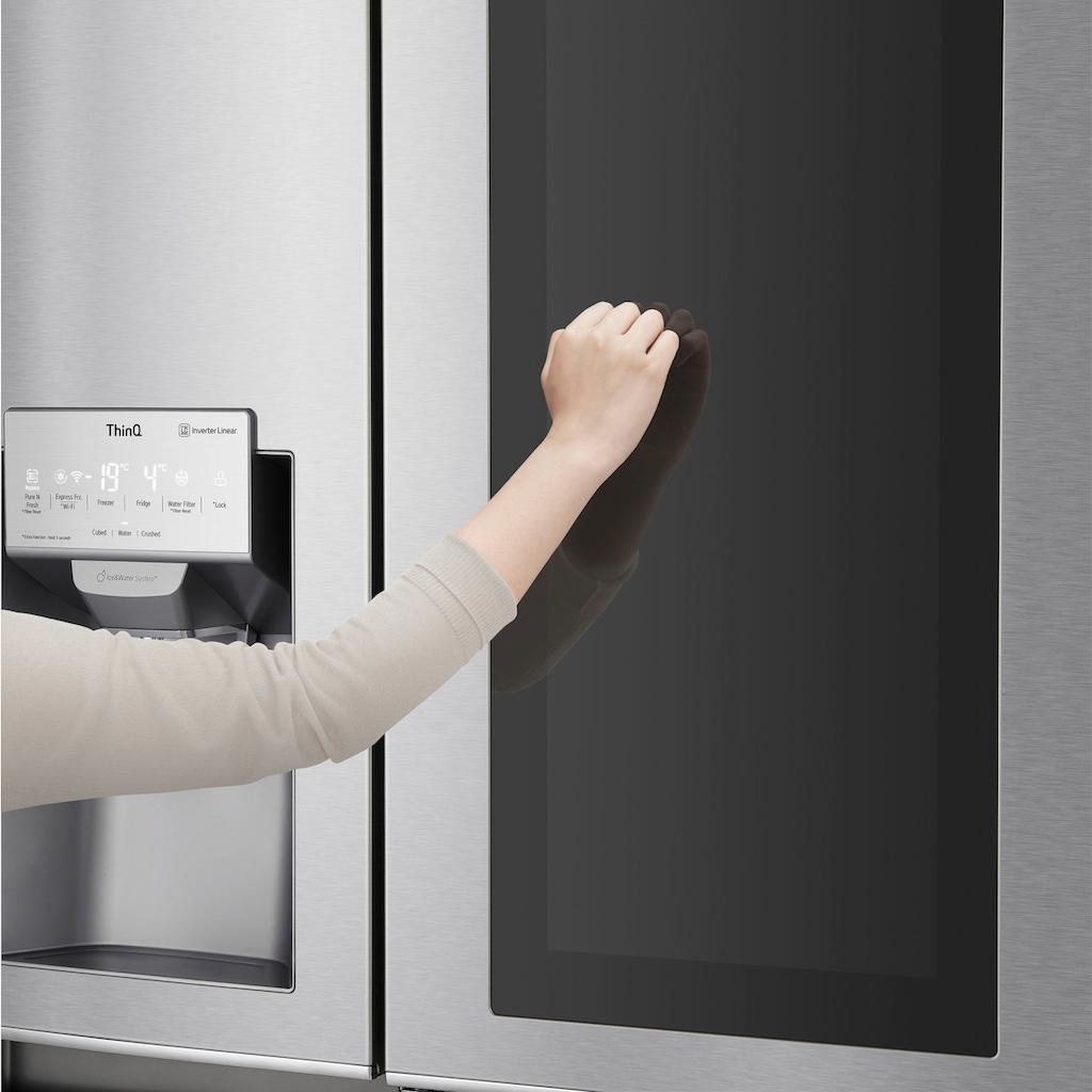 LG Side-by-Side »GSX960NEVZ«, 9, Door-in-Door
