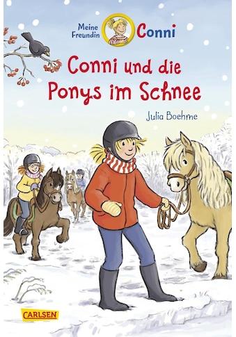 Buch »Conni-Erzählbände 34: Conni und die Ponys im Schnee / Julia Boehme, Herdis... kaufen