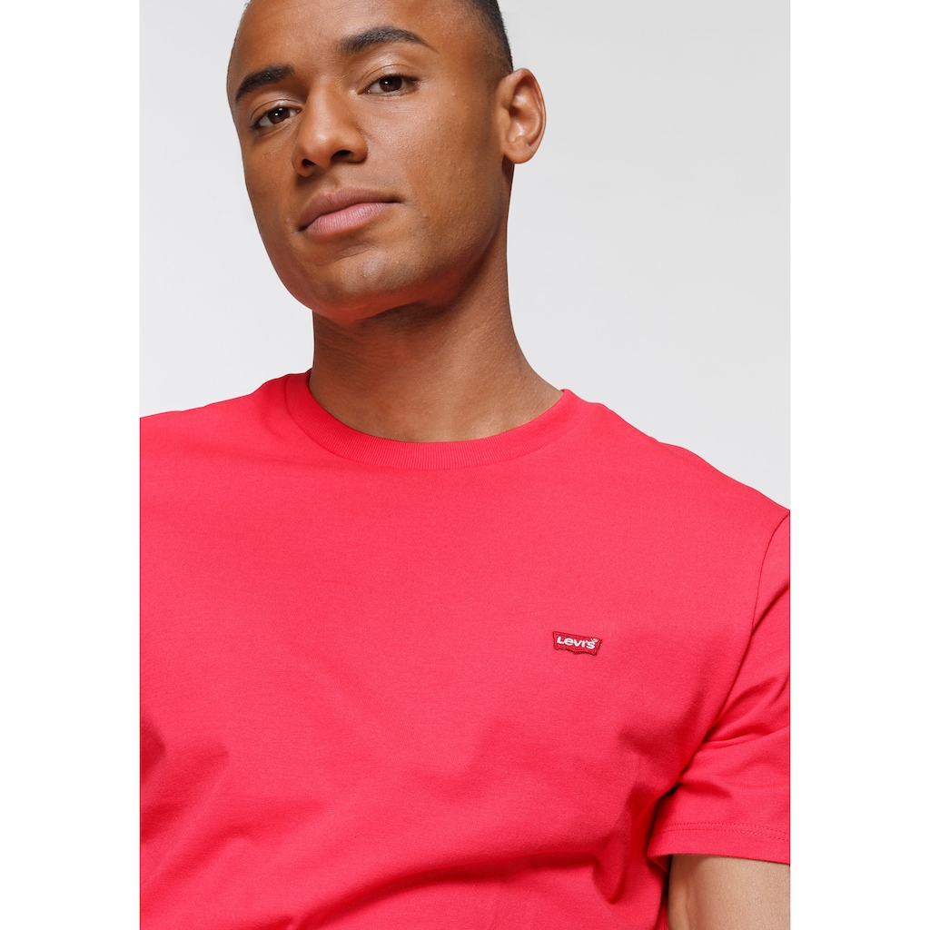 Levi's® T-Shirt »LE SS ORIGINAL HM TEE«, mit Batwing-Logo-Badge