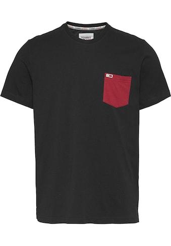 TOMMY JEANS T - Shirt »TJM CONTRAST POCKET TEE« kaufen